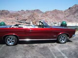 GTO parked outside Hoover Dam