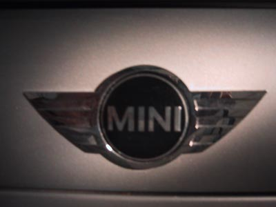 Pictures of Brother's Mini Cooper S