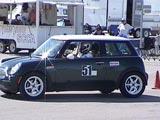 Mini at AutoX 1